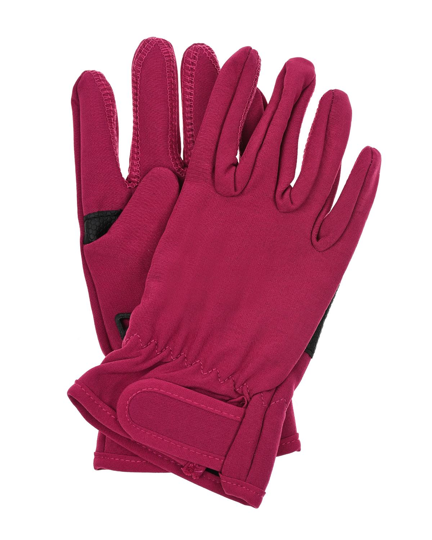 Купить Непромокаемые перчатки цвета фуксии MaxiMo детские, Розовый, 100%полиамид, 100%полиэстер