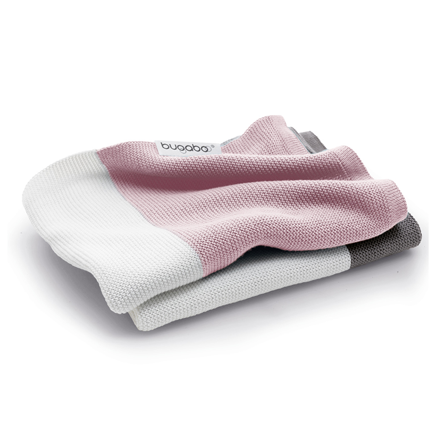 Плед Bugaboo Light Cotton Blanket soft pink multiПледы<br><br>