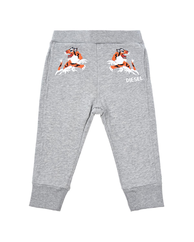 Купить со скидкой Спортивные брюки с принтом Diesel детские