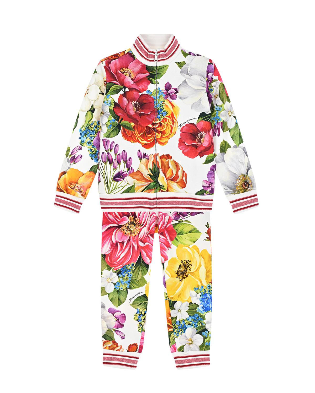 спортивный костюм dolce & gabbana для девочки