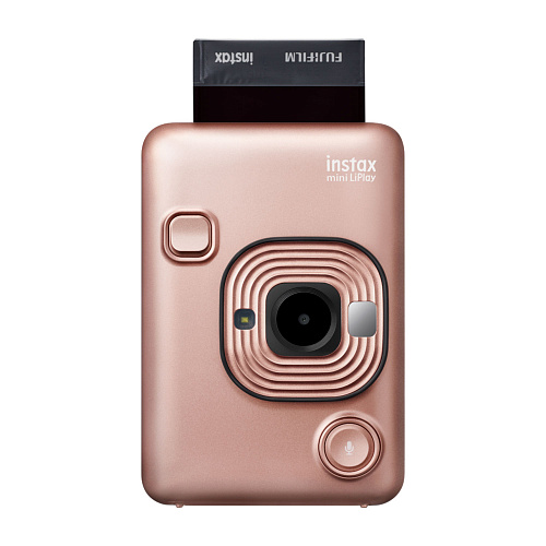 Фотоаппарат INSTAX Mini LiPlay Blush Gold EX D FUJIFILM