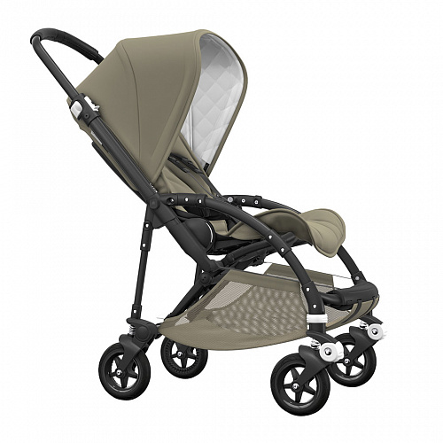 Коляска Bee5 Classic Collection Black/Golden olive Bugaboo