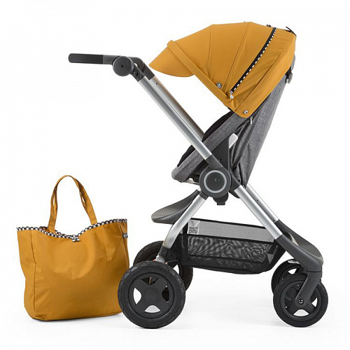 Комплект Style Kit Racing  для коляски Scoot, yellow Stokke