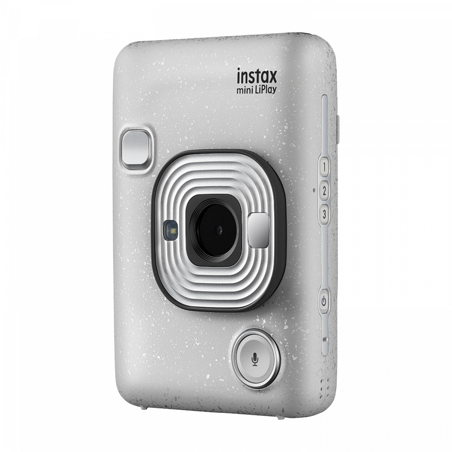 FUJIFILM Фотоаппарат INSTAX Mini LiPlay Stone White EX D купить