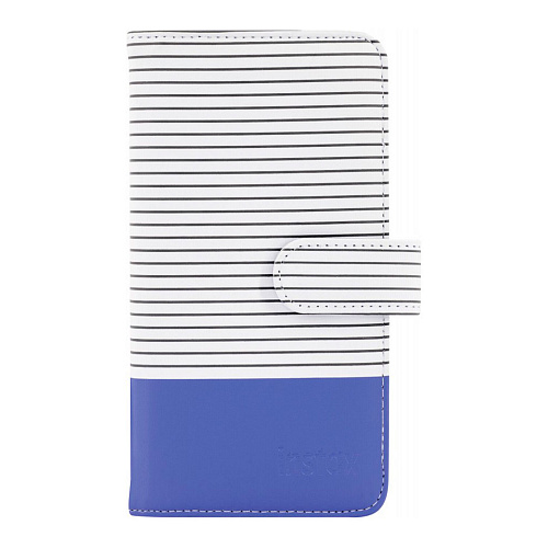 Фотоальбом INSTAX Striped Mini Album Cobalt Blue FUJIFILM