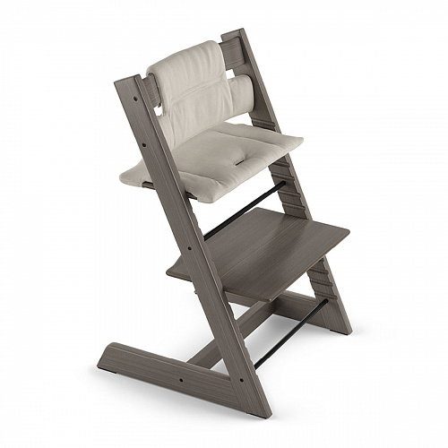 Подушка Stokke для стульчика Tripp Trapp, timeless grey (organic cotton)
