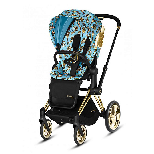 Коляска PRIAM FE JS Cherubs Blue CYBEX
