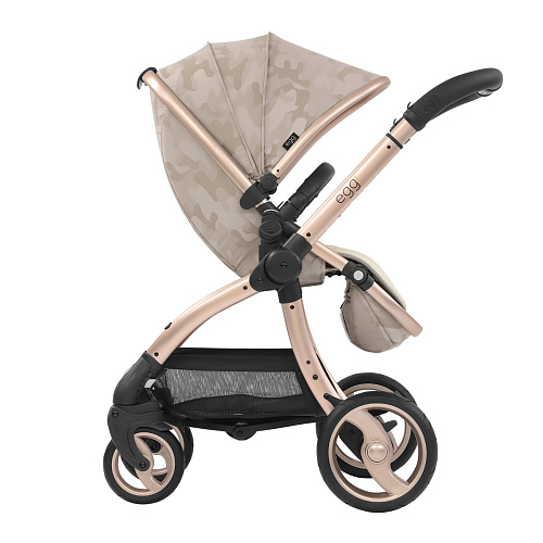 Коляска Stroller Camo Sand & Gold Mirror Chassis egg