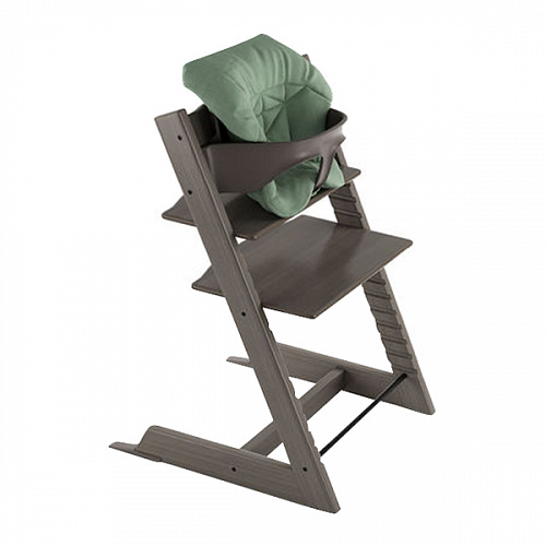 Подушка для стульчика Tripp Trapp, timeless green (organic cotton) Stokke